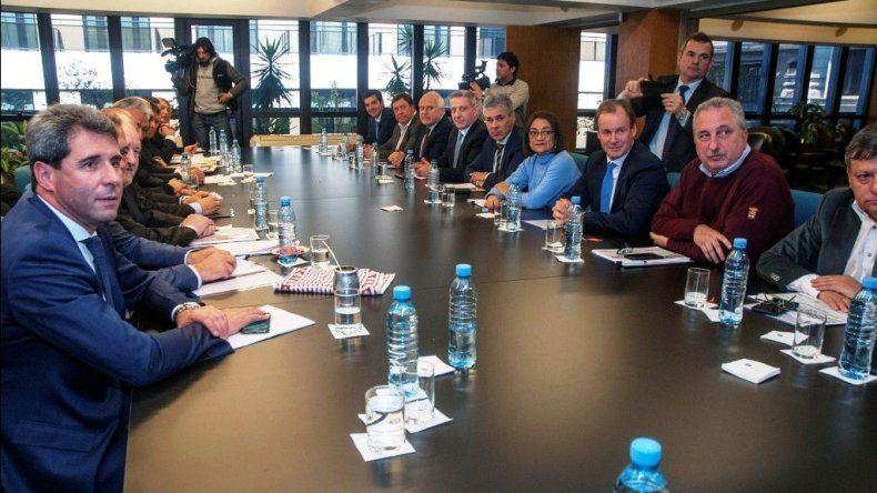 El encuentro de gobernadores que se desarrolló ayer en el CFI.