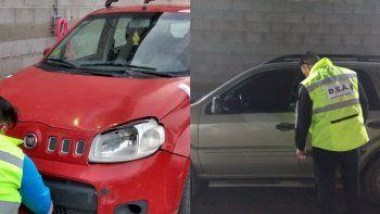 la policia recupero dos vehiculos con pedidos de secuestro