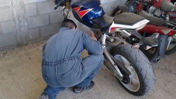 en la verificacion de automotor descubrio que su moto era robada