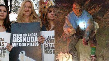 nicole cuestiono el asesinato del puma en manos de un campesino