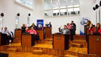 el concejo se expreso en solidaridad a los estatales