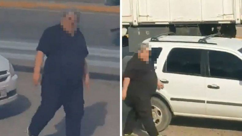 Denuncian que un hombre vandalizó automóviles de docentes