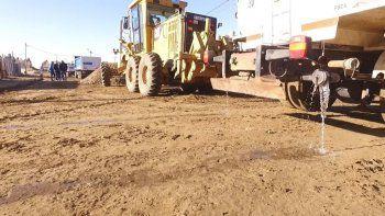La Municipalidad continúa con su plan de obra pública en todo el ejido de Comodoro Rivadavia.