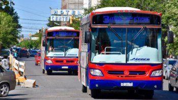 provincia deposito el subsidio del transporte para rawson y trelew