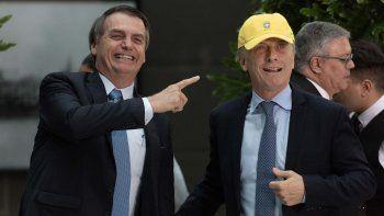 macri le ofrecio ayuda a bolsonaro para el amazonas