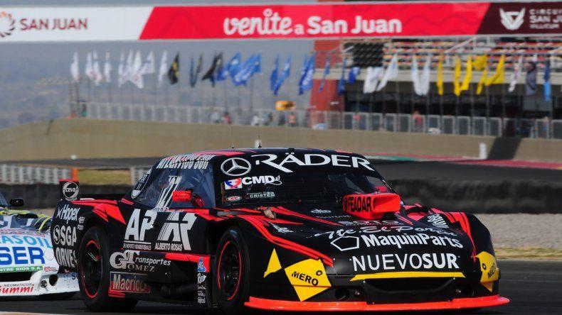 Marcelo Agrelo se ubicó segundo en los entrenamientos del TC Pista.