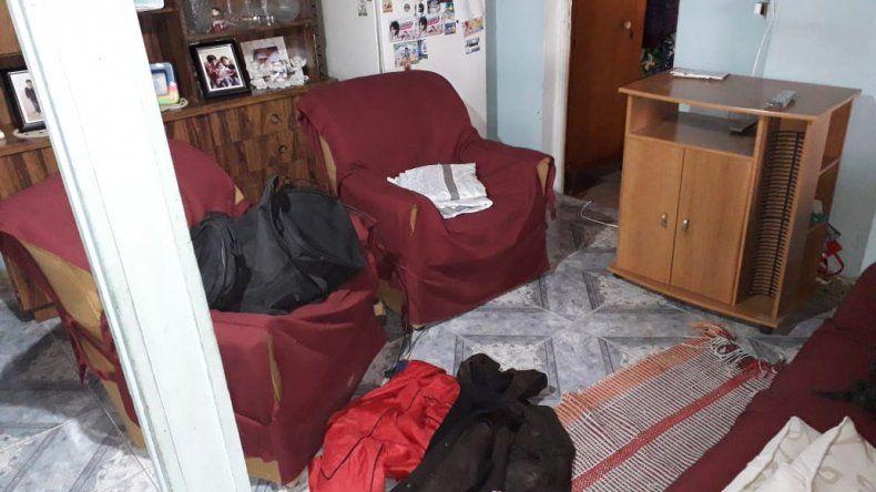 Una mujer logró escapar cuando escuchó a un ladrón ingresar a su casa