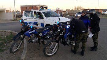Secuestraron un automóvil y una moto en los controles de KM 8