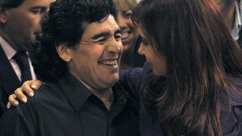Alberto Fernández: Diego se fue a dirigir el equipo de Cristina