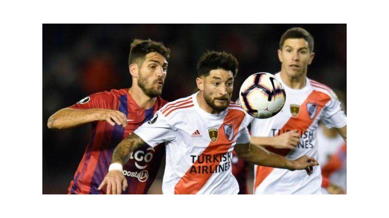 River derrotó 2-0 en la ida a Cerro Porteño