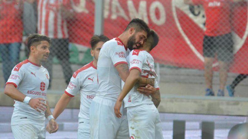 Independiente festejó en San Luis.