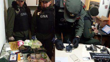 Gendarmería desbarató una banda narco: Secuestran cocaína