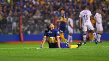 Se confirmaron las lesiones de Salvio y Ábila en Boca