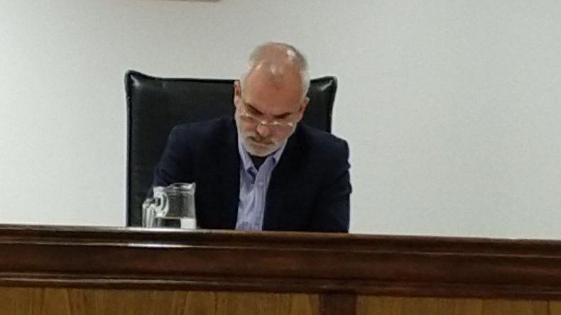 El juez Alejandro Rosales.