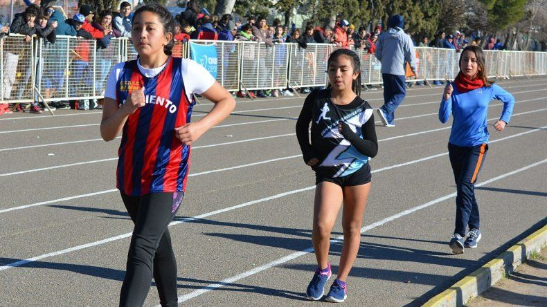 La marcha es una de las pruebas que se están llevando a cabo en la instancia Provincial de los Juegos Evita.