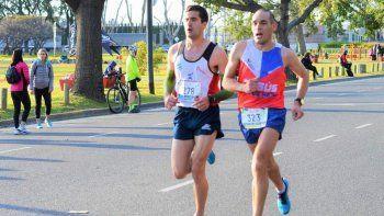 El comodorense José Chaile (323) logró en Buenos Aires el primer puesto en la categoría 40-44 años.