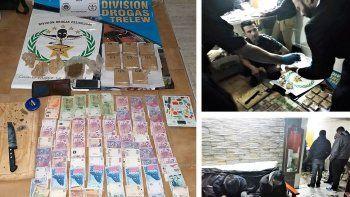 Secuestran más de 3 kilos marihuana y detienen al hijo de un policía