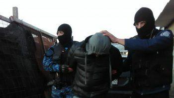 La detención del sospechoso se produjo el jueves a la mañana.
