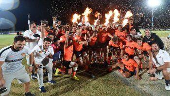 Jaguares XV se consagró campeón en Sudáfrica
