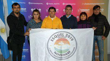 Los organizadores visitaron Chubut Deportes.