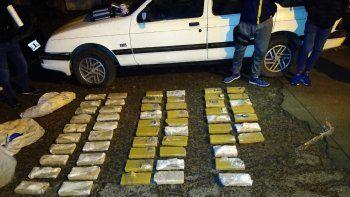 El operativo que se realizó el 15 de junio, donde la policía incautó más de 58 kilos de droga.