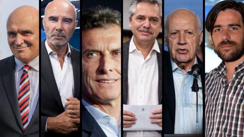 Los candidatos presidenciales confirmaron que participarán de los debates