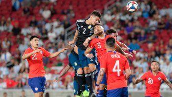 argentina jugo bien pero no pudo derrotar a chile