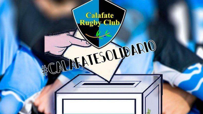 Solidaridad: el rugby local busca ayudar a un colaborador de Calafate