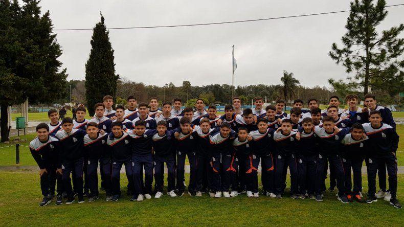 Los chicos de la CAI están listos para jugar en Buenos Aires partidos de preparación.