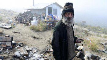 A los 69 años murió el ermitaño de Neuquén