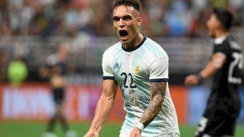 Argentina goleó con un Lautaro Martínez intratable