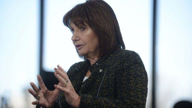 Patricia Bullrich: si pasan hambre, tienen los comedores