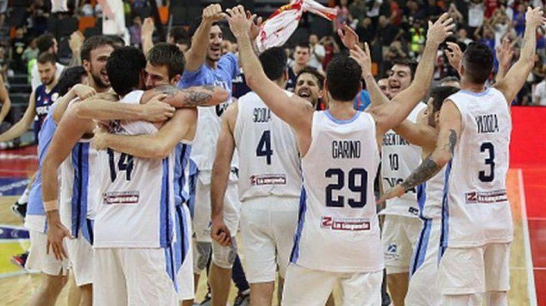 La selección argentina de básquetbol se enfrentará mañana a Francia