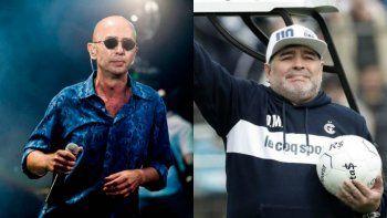 El mensaje del Indio Solari a Gimnasia por la llegada de Maradona