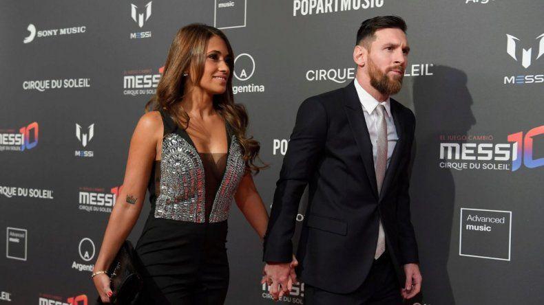 Messi sobre Antonela: es todo para mí
