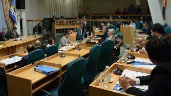La sesión ordinaria de ayer, en la cual se sancionó la ley por la que se crea una licencia especial por violencia de género en el ámbito laboral estatal, fue presidida por el vicegobernador Pablo González.
