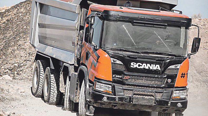Scania presentó los camiones xt, su línea off road