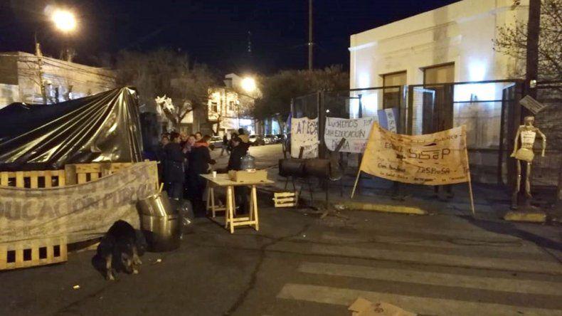 La MUS denunció amenazas, levantó la vigilia y anunció una movilización provincial