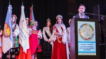 El viceintendente Juan Pablo Luque encabezó la ceremonia inaugural de la feria.