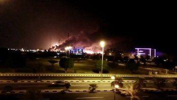 el gobierno condeno el ataque a dos refinerias en arabia saudita