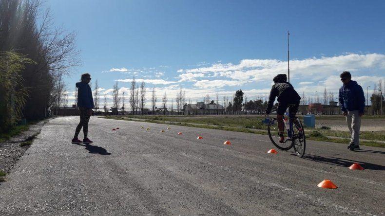 El ciclismo provincial tuvo una histórica concentración el último fin de semana en Rawson.