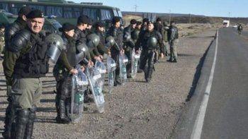 la confederacion mapuche contra la intervencion de gendarmeria