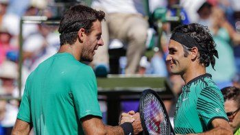 Juan Martín Del Potro y Roger Federer jugarán un partido en Argentina