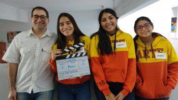Tres alumnas de la Escuela N° 746 de Comodoro Rivadavia lograron el pasaporte a la instancia final de la Maratón Nacional de Programación y Robótica, que tendrá lugar hoy en la Ciudad de Buenos Aires.
