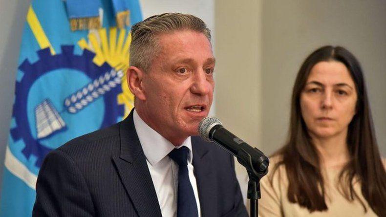 Mariano Arcioni: el nivel de acatamiento del paro docente no llega al 30%
