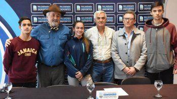 Con presencia de funcionarios, dirigentes y atletas se presentó el 28º Campeonato Nacional de Copa de Clubes U-18.