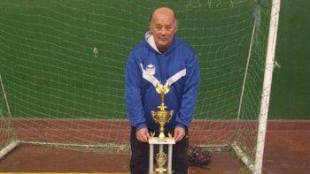 tristeza por el fallecimiento de un entrenador comodorense