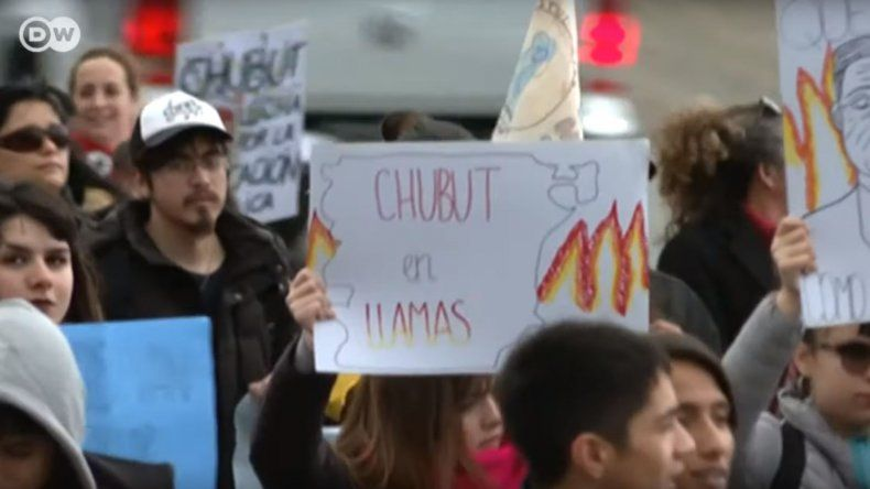 La crisis de Chubut llegó a los medios internacionales