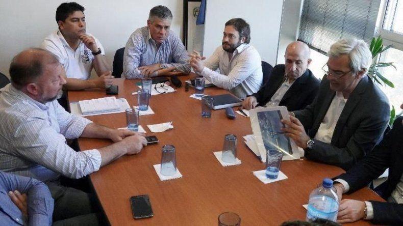 Las reuniones entre representantes del gobierno santacruceño