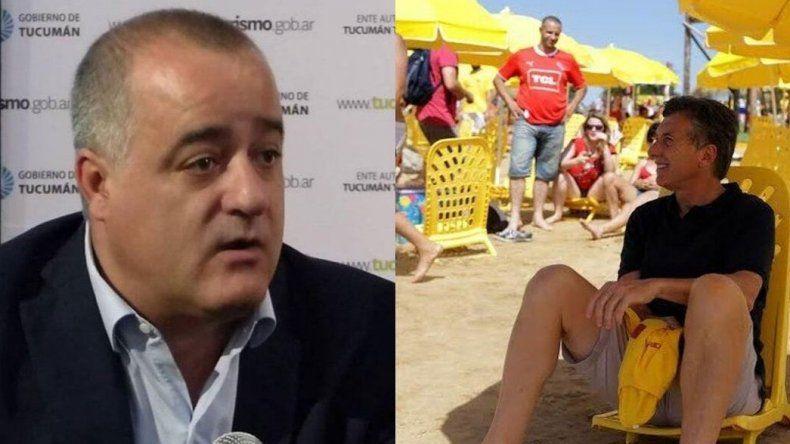 Un intendente le dijo domador de reposeras a Macri y estallaron los memes